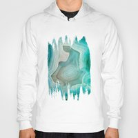 shapes Hoodies featuring THE BEAUTY OF MINERALS 2 by Catspaws