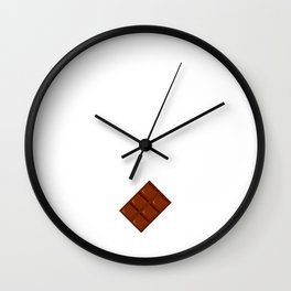 Nothing Wrong with Me Chocolate Won't Fix T-Shirt Wall Clock