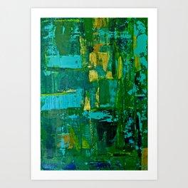 For Pim 2 - Diptych Art Print