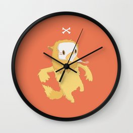 Anthrophobia Fear of Social Interactions Wall Clock