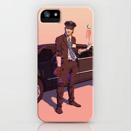 """Chauffer'shaw"" Clayton Kershaw iPhone Case"