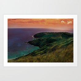 Hanauma Bay Art Print