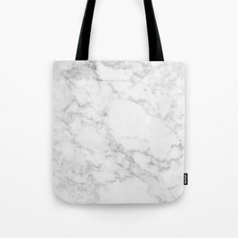 White Marble Edition 2 Tote Bag