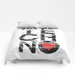 Love Techno Music Comforters