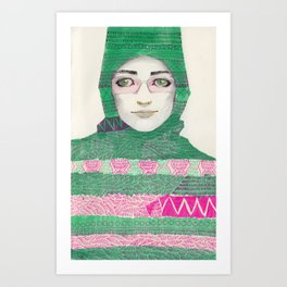 Abaya 03 Art Print