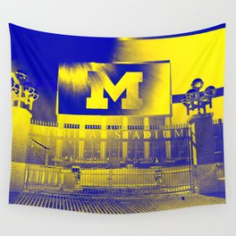 Michigan Stadium Wall Tapestry