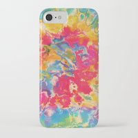 tie dye iPhone & iPod Cases featuring Tie Dye by The Dope Scope
