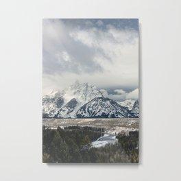 Snake River Wyoming Metal Print