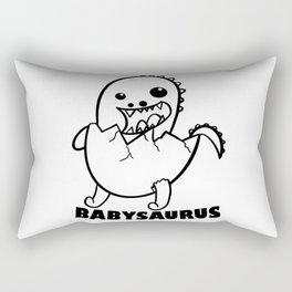 Babydino Dinosaur Kids Gift Idea Rectangular Pillow