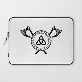 Norse Axe - Celtic Knot Laptop Sleeve