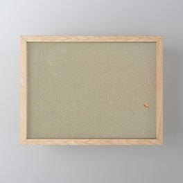 leave only footprints Framed Mini Art Print