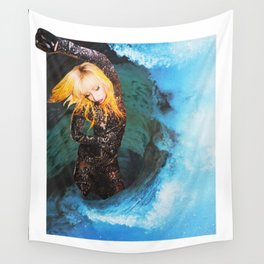 Lady Wave Wall Tapestry