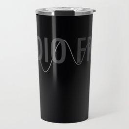 Audio Freq Travel Mug
