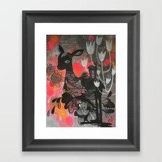 Killer Tulips Framed Art Print