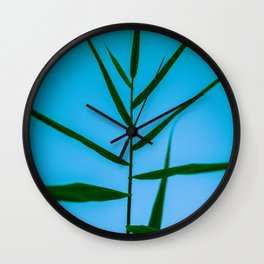 Reach to the Sky at Sunset 2 Wall Clock