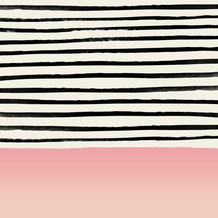 Blush x Stripes Comforters
