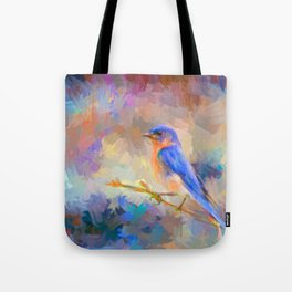 Bring On The Bluebirds Tote Bag