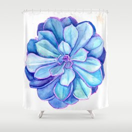 Galactic Unfurling Shower Curtain