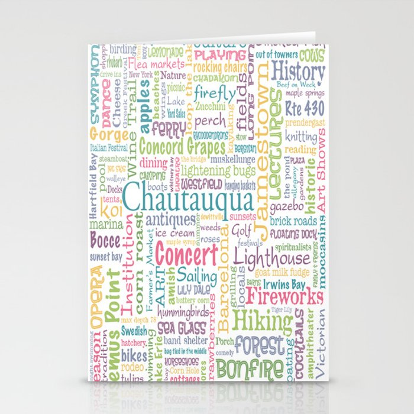 Chautauqua Summer Dream Stationery Cards
