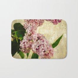 Vintage Lilacs in Bloom Bath Mat
