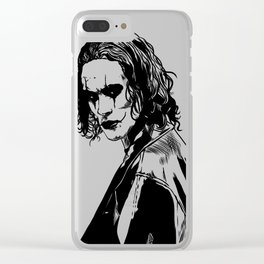 The Crow (Brandon Lee) Clear iPhone Case