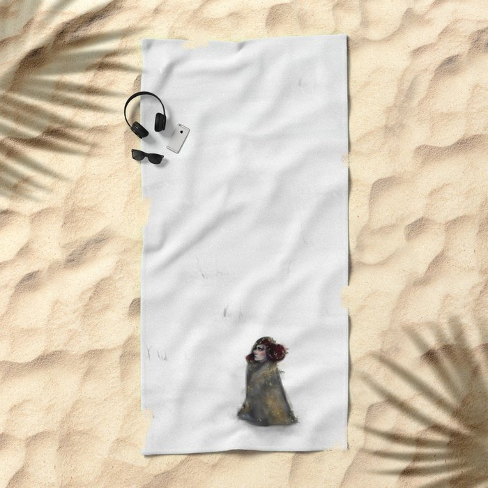 Waste for the Journey Beach Towel
