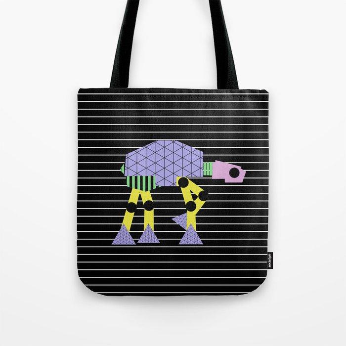 Geometric AT-AT Walker (Pastel Shapes Artwork - Cult Film) Tote Bag