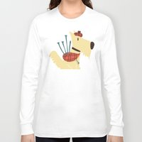 terrier Long Sleeve T-shirts featuring Scottish  Terrier - My Pet by Picomodi