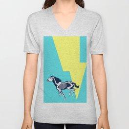 Electro Horse Unisex V-Neck