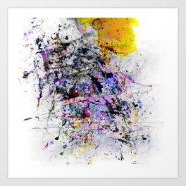pattern seven Art Print