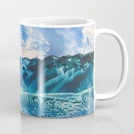 Fantasy Turquoise and Teal Landscape Coffee Mug