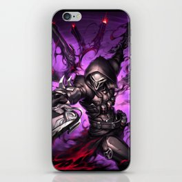 reaper over iPhone Skin