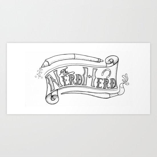 The Nerd Herd Art Print