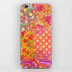 Retro patterns iPhone & iPod Skin