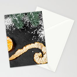 Desktop Wallpapers New year Mandarine Food Branche Stationery Cards