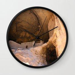 Ancient Pueblo - Gila Cliff Dwellings Wall Clock