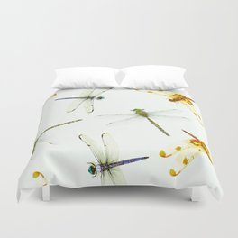 Dragonfly Pattern Duvet Cover