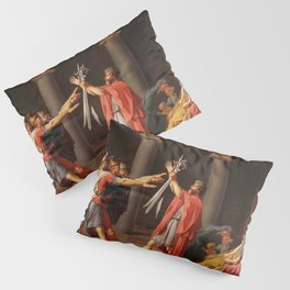 The Oath of the Horatii, 1786 by Jacques-Louis David Pillow Sham