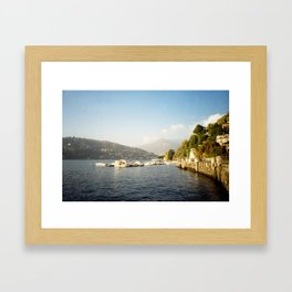 Varying Contrasts Framed Art Print