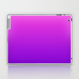 Pink to Purple Ombre Gradient Laptop & iPad Skin