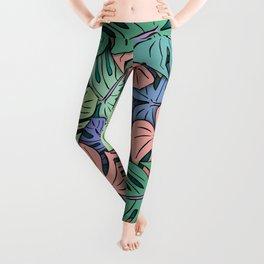 Monstera Leaves #8 Leggings