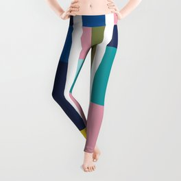 Pantone Colors Geometric Leggings
