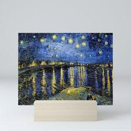 Vincent Van Gogh Starry Night Mini Art Print