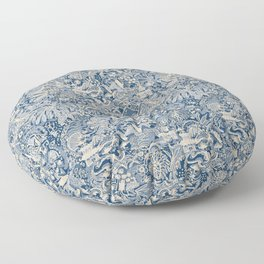 Japanese Gardens Floor Pillow