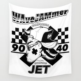 WAVEWAMMER SURFING COMPANY / JET LEGEND BLACK Wall Tapestry