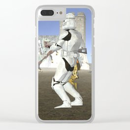 War Stars: Super Trooper Clear iPhone Case