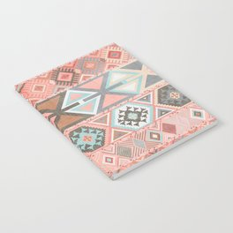 Aztec Artisan Tribal in Pink Notebook