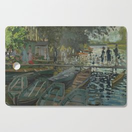 Bathers at La Grenouillère Cutting Board