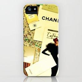 Weekend in Paris iPhone Case