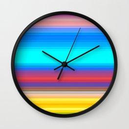 Re-Created Spectrum LIV by Robert S. Lee Wall Clock